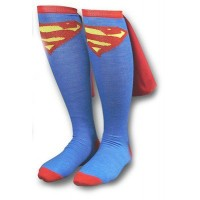 Supergirl Caped Knee Socks