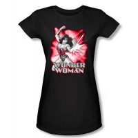 Wonder Woman Red and Grey T-Shirt