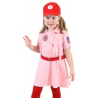Rockford Peaches Child Costume