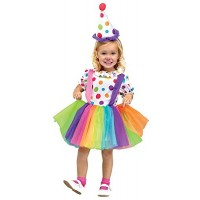 Rainbow Clown Costume