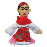 Frida Kahlo Finger Puppet & Magnet