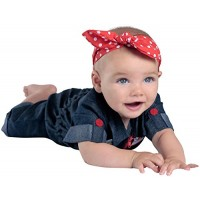 Rosie the Riveter Newborn Costume