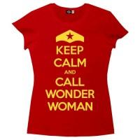 Keep Calm and Call Wonder Woman T-Shirt