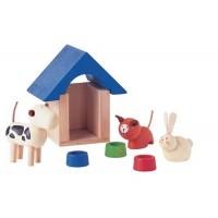 Dollhouse Pet House & Pets