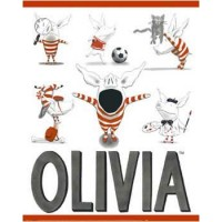 Olivia Busy Little Piggy Poster