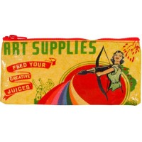 Blue Q Art Supplies Pencil Case