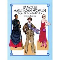 Famous American Women Paper Dolls