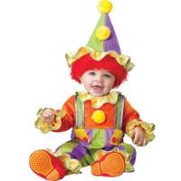 Clown Jumpsuit Infant/Toddler Costume