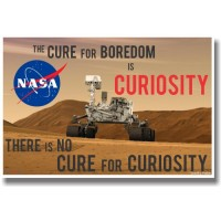 Mars Rover Curiosity Poster