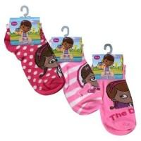 Doc McStuffins Ankle Socks 3-Pack