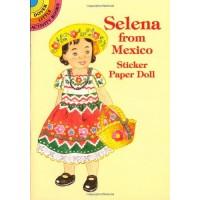 Selena from Mexico Sticker Doll