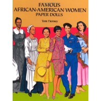 Famous African American Women Paper Dolls