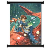 Nausicaa Of The Valley Of The Wind Fabric Wall Scroll