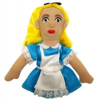 Alice in Wonderland Finger Puppet & Magnet