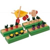 Dollhouse Vegetable Garden