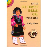Little Southwest Indian Girl Paper Doll