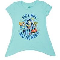 DC Super Hero Girls Rule The World Shirt