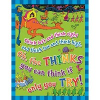 "Dr. Seuss ""The Thinks You Can Think"" Poster"