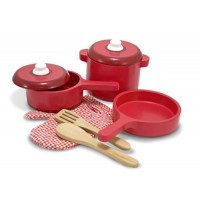 Deluxe Wooden Kitchen Accessory Set