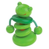 Croo-ak Frog Clutching Toy