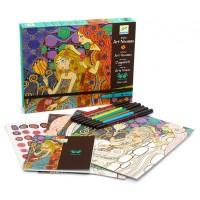 Art Nouveau Coloring Workshop