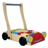 Baby Walker and Blocks Set