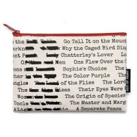 Banned Books Zippered Pouch