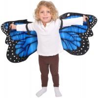 Blue Morpho Plush Butterfly Wings