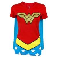 Wonder Woman Caped T-Shirt