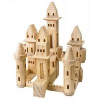 Wood Castle Blocks