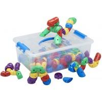 Caterpillar Bits and Pieces Math Manipulatives Building Kit