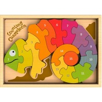 Chameleon Counting Puzzle