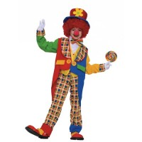 Clown on the Town Costume