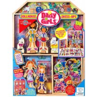 Daisy Girls Dollhouse & Dress-Ups