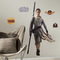 Rey (The Force Awakens) Wall Decals