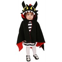Dragon / Devil Reversible Cloak Costume
