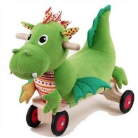 Puffy Dragon Ride-On Toy