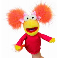 Red Fraggle Hand Puppet