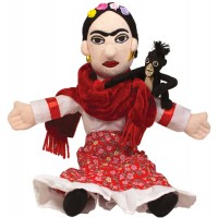 Frida Kahlo Plush Doll