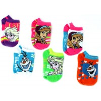 Frozen Ankle Socks 6-Pack