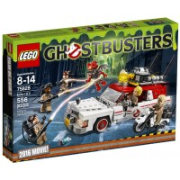 LEGO Ghostbusters Ecto 1 and 2