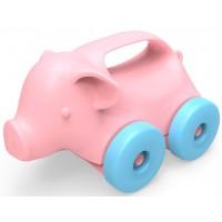 Green Toys Pig On Wheels