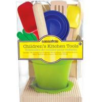 Little Cook Kid's Kitchen Tool Kit