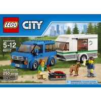 LEGO City Van and Caravan