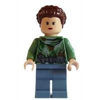 Lego Princess Leia on Endor Minifigure