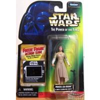 Princess Leia in Ewok Celebration Outfit