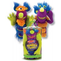 Make Your Own Fuzzy Monster Puppet