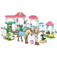 Mega Bloks American Girl: Nicki's Horse Stables