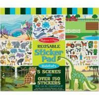 Habitats Reusable Sticker Pad