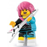 Lego Rocker Girl Figure
